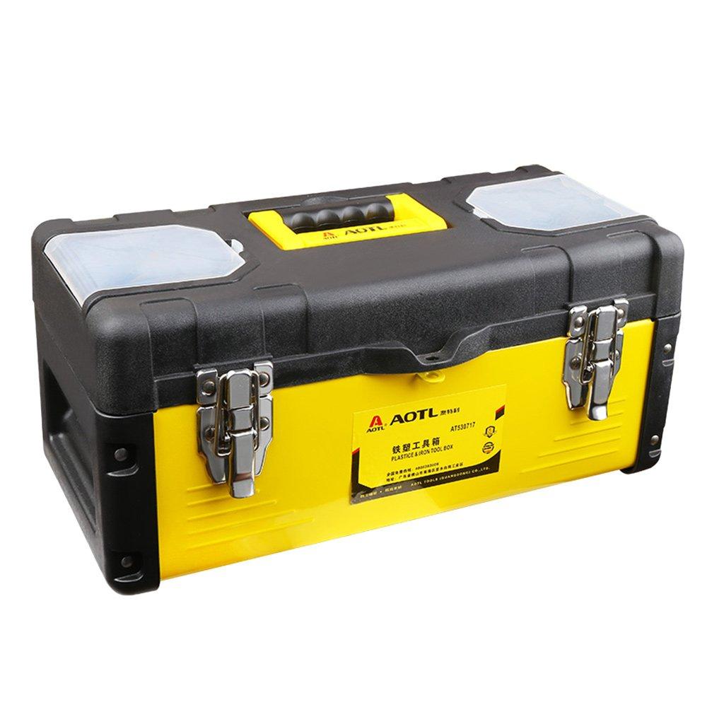 GRALARA ツールケース 工具箱 多機能 二重 家庭用 作業用 耐摩耗性 修理ツール B07929PZGH