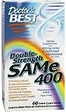 Doctor's Best, Double-Strength SAMe 400, 60 comprimés gastrorésistants