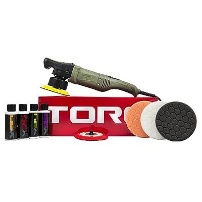 Chemical Guys BUF501X 10FX Random Orbital Polisher Kit (Polisher + 9 Items): Automotive