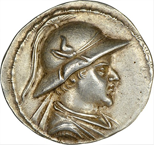 Coin Tetradrachm Ancient Silver Greek - AF c. 170-145 BC Ancient Kingdom of Bactria Eucratides I Antique Silver Coin Rare Coins AR Tetradrachm Extremely Fine NGC