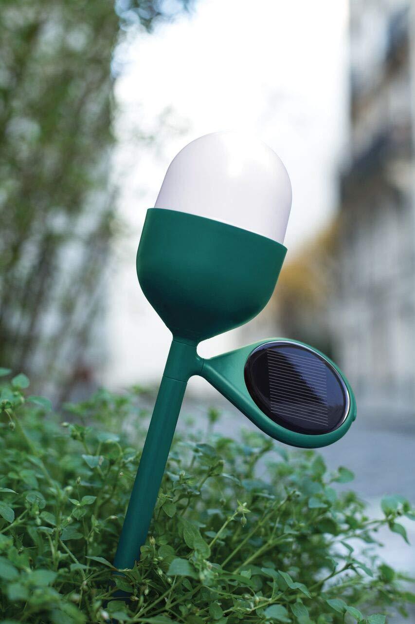 Eco Friendly 5 Hour Battery Life Rain Resistant Easy to Carry Lexon Clover Garden Wireless Solar Light USB Rechargeable