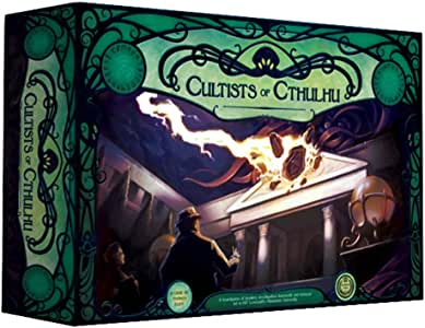 Cultists of Cthulhu board game XSP003 1-6 Play, 14+, 120 Mins Sixpence Games