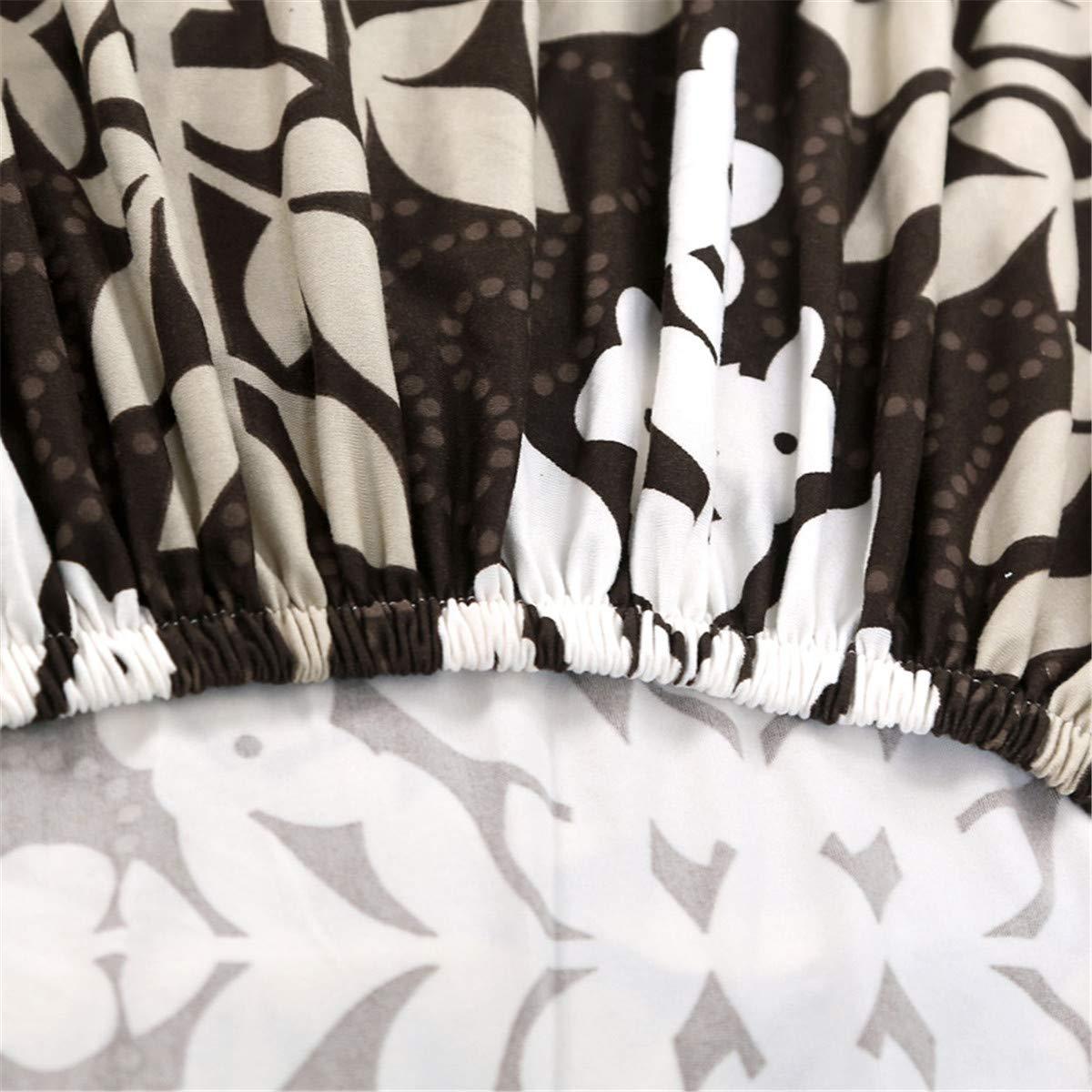 Odot Home Funda de Sof/á El/ástica 1 Asiento: 90-140cm,Flor Cubierta Antideslizante Universal Tejido Cubre Sof/á Proteger Decoraci/ón del Hogar Fundas de Sofa