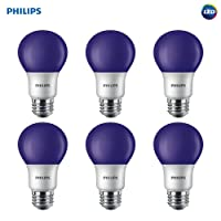 6-Pack Philips LED A19 Color Light Bulb: 8-Watt Deals
