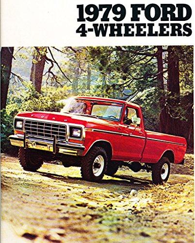 1979 Ford 4wd Trucks 8-page Original Car Sales Brochure Catalog - F-150 (Ford F150 Brochure)