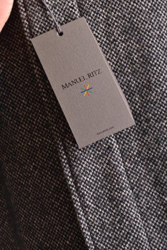 Manuel Ritz Homme MCBI325026O Gris Polyester Manteau