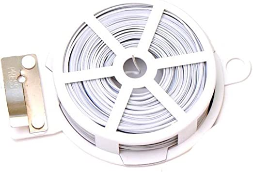 50 Meter Garden Wire Sliver High Quality Roll Wire Plant For All Gardening Use