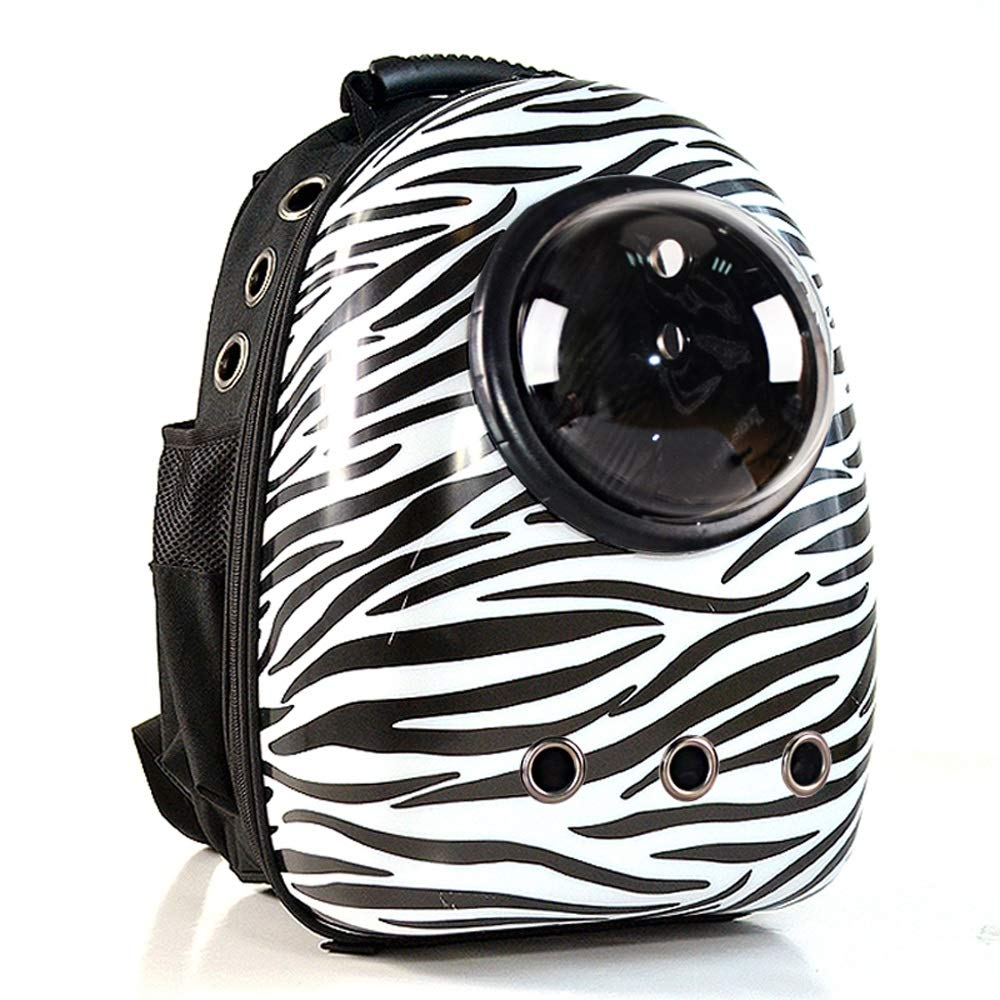 B ZZHOU Space Capsule Pet Backpack, Outdoor Hiking Travel Cat Dog Breathable Rucksack Portable Small Animal Sports Cute Knapsack Leisure Pet Supplies (color   D)