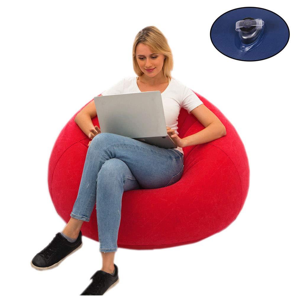 Amazon.com: EFGS - Puf hinchable para interiores y ...