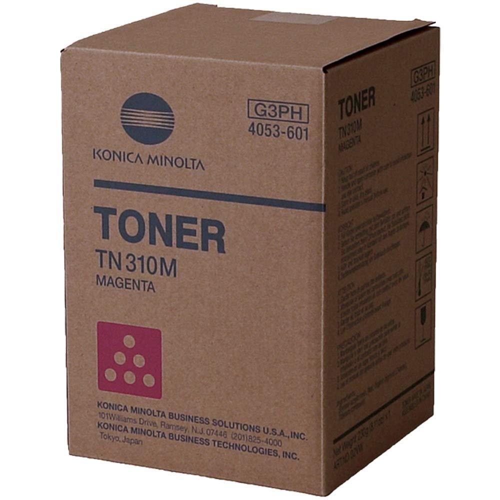 Konica TN310M Magenta Copier Toner (11500 Page Yield) (4053-601), Works for C350, C351, C450 by Konica-Minolta