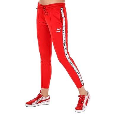 bien connu détaillant ramassé Puma Pantalon de Jogging Rouge Femme: Amazon.fr: Vêtements ...