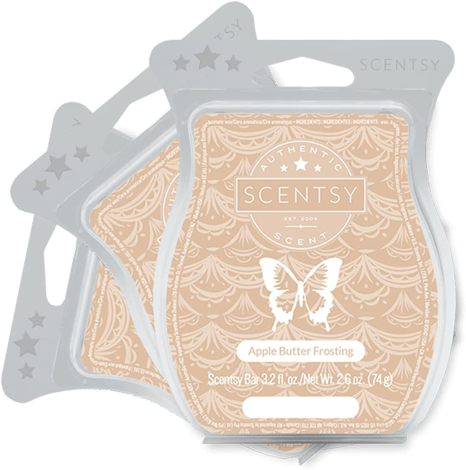 Scentsy Apple Butter Frosting Wax Bar 3-Pack