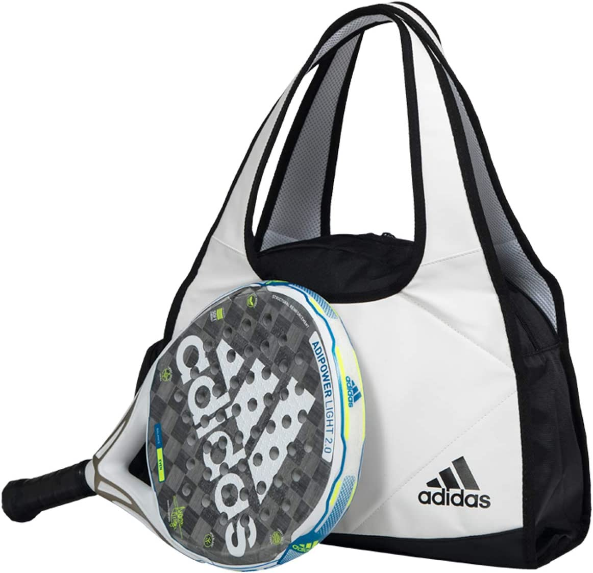 adidas Weekend Bag 2.0 Blanco, Unisex Adulto
