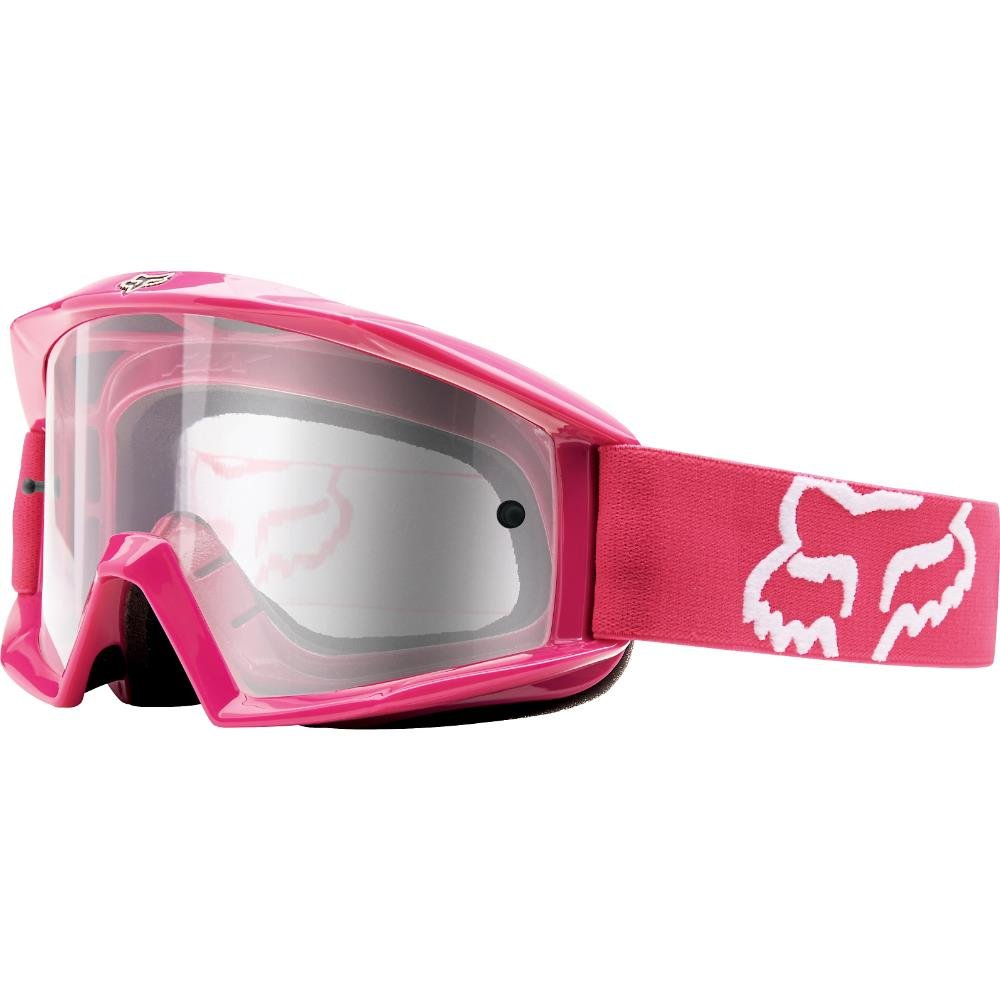 Fox Racing Main Adult Moto Motorcycle Goggles Eyewear - Red/One Size