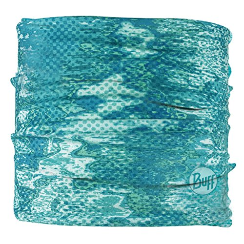 BUFF Unisex UV Multifunctional Headband, Pelagic Camo Tropical, OSFM