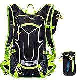 Hiking Cycling Riding Knapsack Helmet Basketball Pack Lightweight Waterproof Outdoor Backpack (Green)
