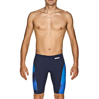 Amazon.com : Arena Men's Palm Forest MaxLife Panel Jammer Swimsuit : Clothing