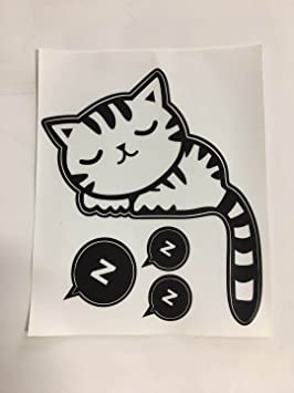 DDLBiz Interruptor de Luz Serie de Pegatinas de Vinilo Decorativo - Lindo Gato, Gato y