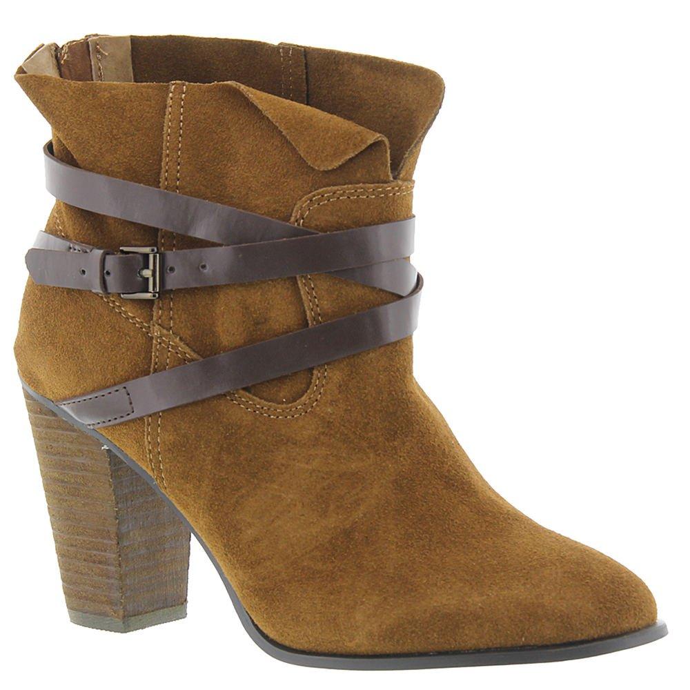 Carlos by Carlos Santana Women's Miles Ankle Boot B0751M9H7B 10 B(M) US|Bourbon