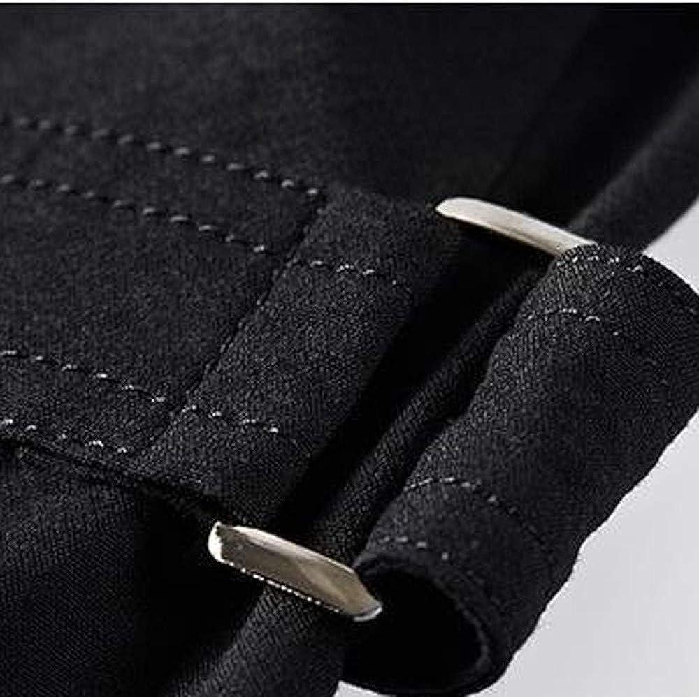 MODOQO Mens Jacket Slim Fit Button Coat Long Warm Autumn Winter Outwear Peacoat