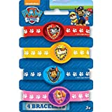 PAW Patrol Rubber Bracelet Party Favors, 4ct