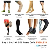 BeVisible Sports - Knee Compression Sleeve For