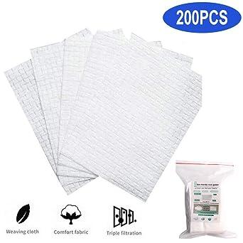 200PCS Filtros Desechables, Protectores Faciales de AlgodóN ...