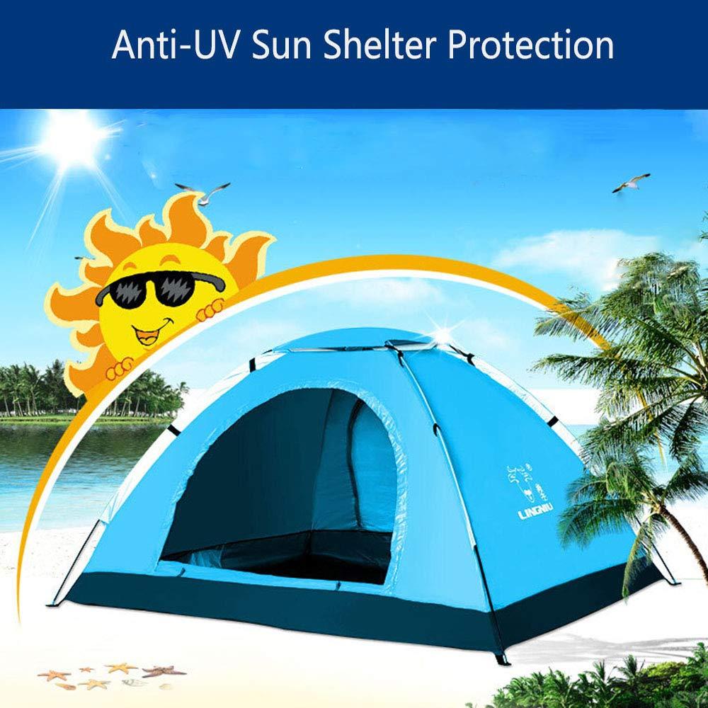 Angeln//Strand Zeiten Lychee Outdoor Strand Zelt Portable Automatische Instant Strand Zelt Wasserdicht Anti-UV Sun Shelter Schutz f/ür Familie Garten//Camping f/ür 2-3 Person