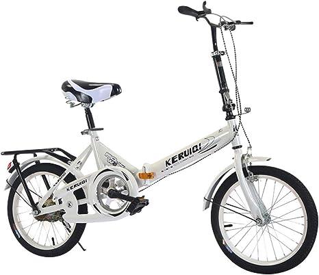 KIMODO Bicicleta Plegable para Adultos Hombres y Mujeres 20 ...
