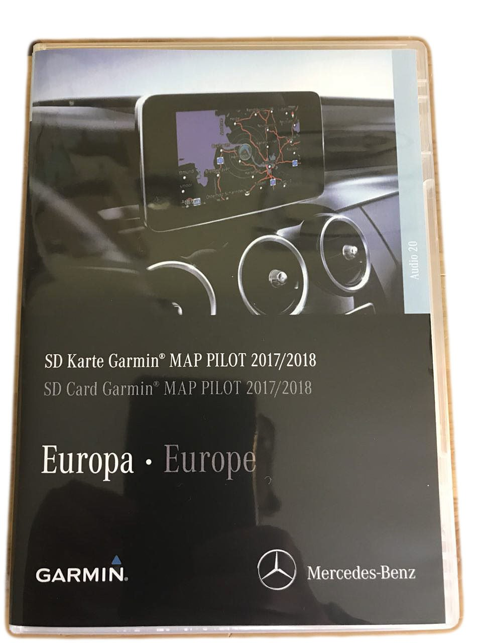 V9 Map 2017/2018 Map Pilot SD Card Audio 20 Touchpad - A2139069905 suwtec