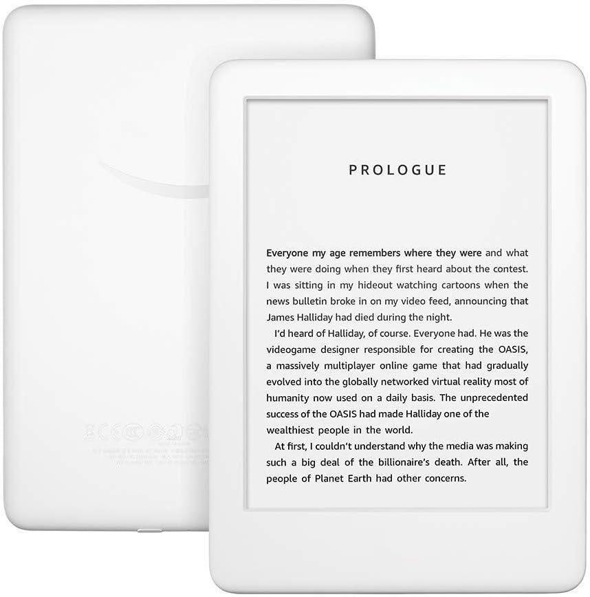 VCX Versión completamente nueva, ahora con un sistema incorporado en la luz delantera, Wi-Fi 4 GB de libros electrónicos de pantalla de tinta electrónica de lectores de libros electrónicos de 6 pulgad: