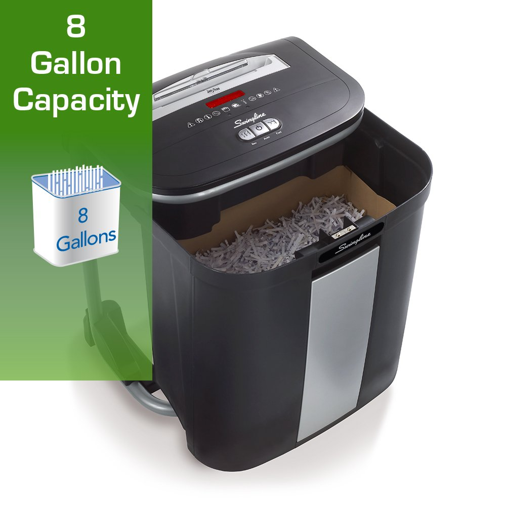 amazon com swingline paper shredder jam free 16 sheet capacity