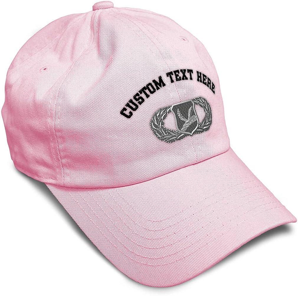 Custom Soft Baseball Cap Chaplain Service Support Embroidery Twill Cotton