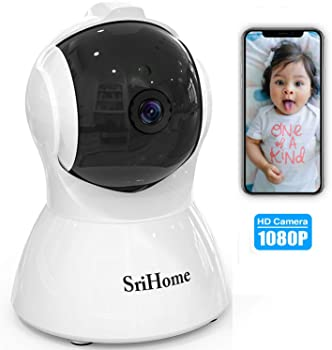 GORRON Wireless 1080P HD Video Security Camera With Night Vision