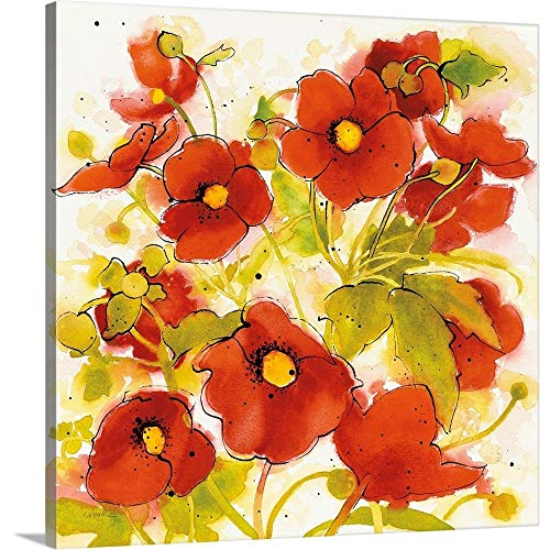 (Gallery-Wrapped Canvas Entitled Wild Meadow II by Shirley Novak)