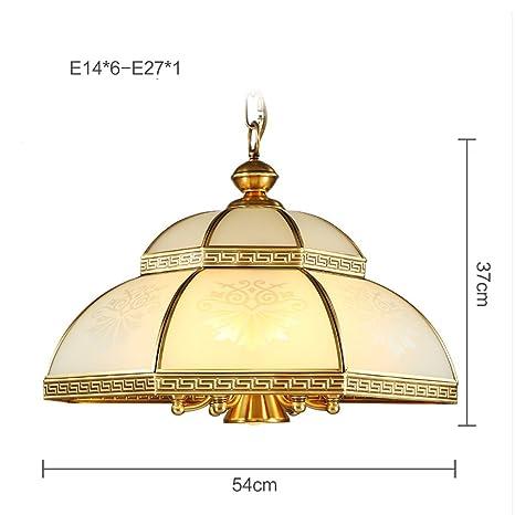 PIGE Lámpara de Cobre Lámpara de Techo de Cobre Completo de ...