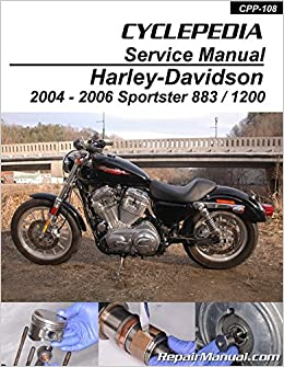 CPP-108-P Harley-Davidson XL883 XL1200 Sportster 2004-2006 ... on