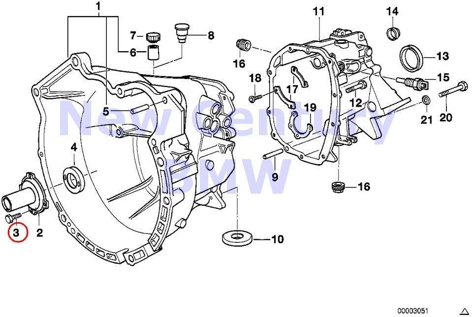 VAICO Manual Transmission Mounting Fits BMW X1 Z4 E90 E88 E87 E81 22316799411