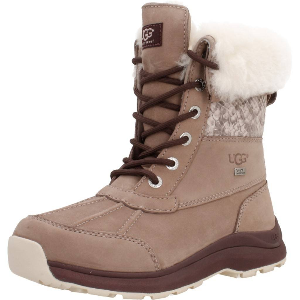d1f41f053dd UGG Adirondack III Snake Boot 2018 Dusk, 36: Amazon.co.uk: Shoes & Bags