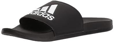 the best attitude 8e0b7 034b9 adidas Adilette CF, Logo Herren, Schwarz (Core BlackCore BlackWhite