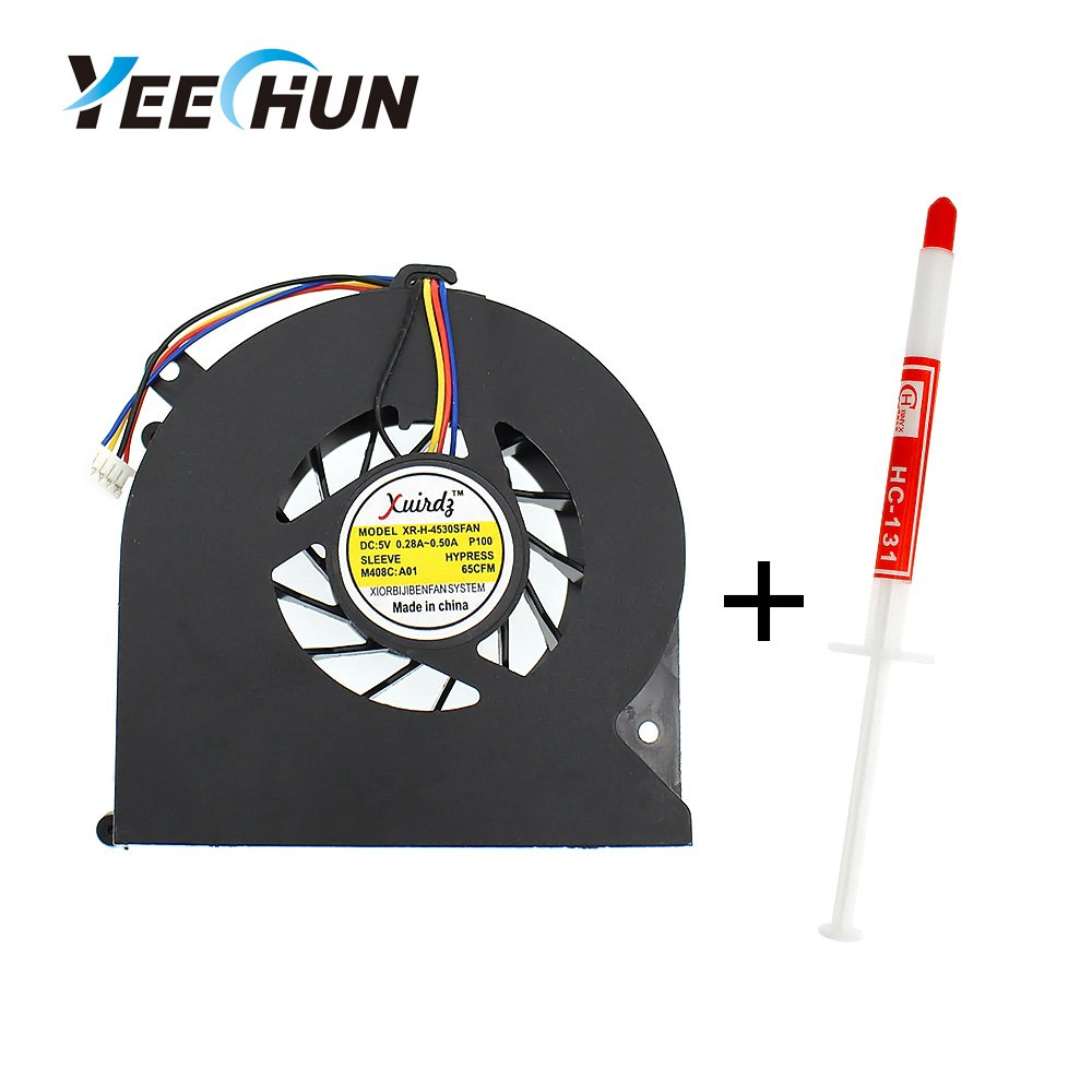 YEECHUN CPU Cooling Fan for HP ProBook 4535S 4530S 4730S 6460B 8460P 8470P 8450P Series with Part Numbers 641839-001 646285-001 6033B0024002 KSB0505HB (Thermal Paste Included)