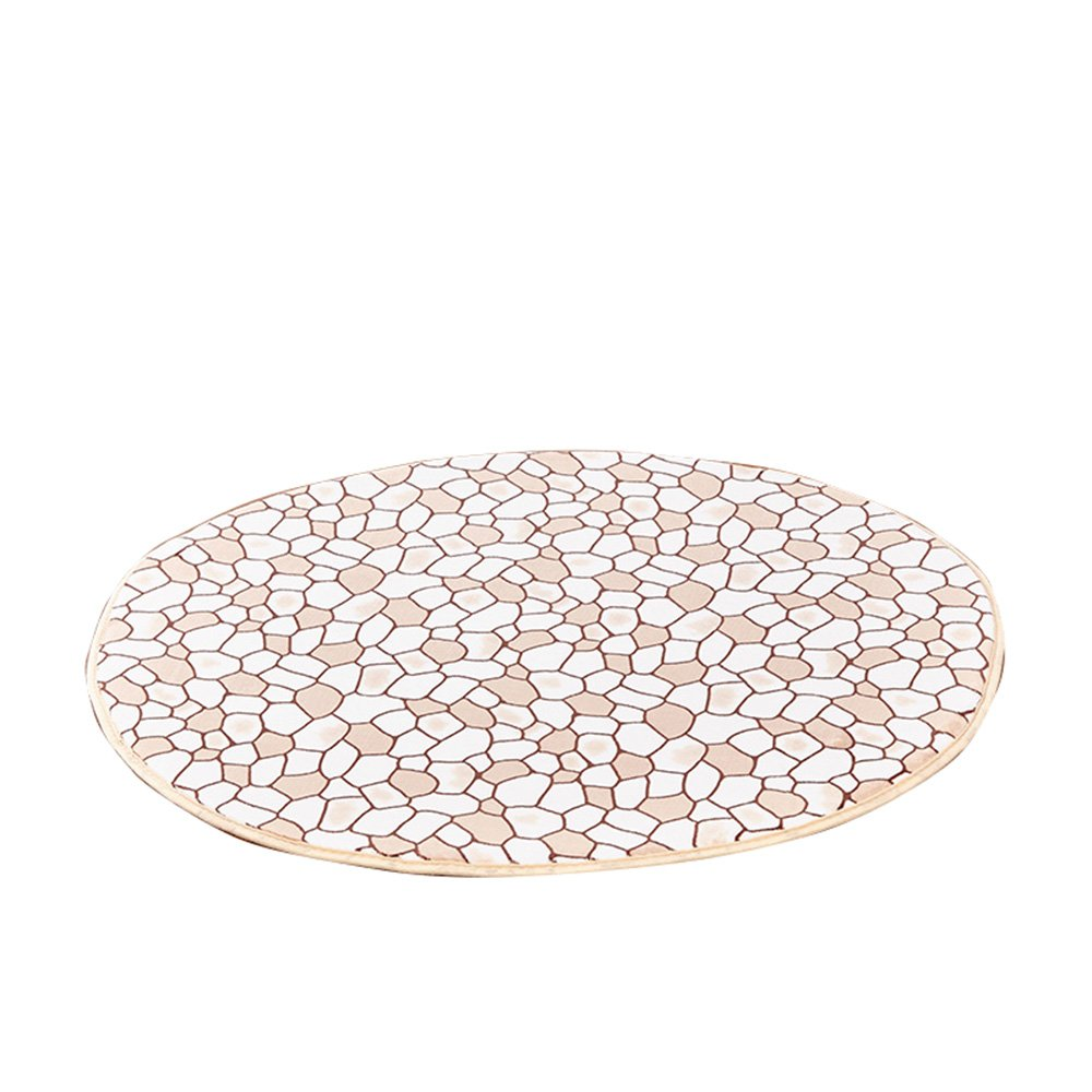 Soft skin-friendly carpet / gondola computer seat cushion / bedroom cute bedside rug / round mat / children's crawling mat / ( Size : 200cm )