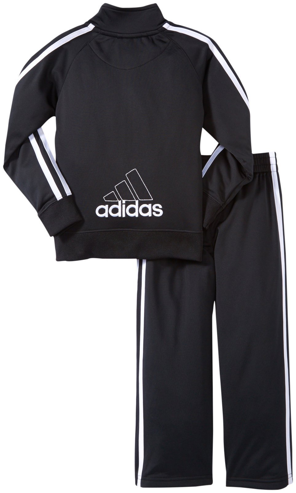 adidas Little Boys' Core Tricot Set,Black,3T by adidas