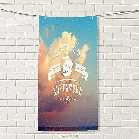 Smbeefly Adventure - Toalla de Mano, diseño de Flechas Cruzadas y ...