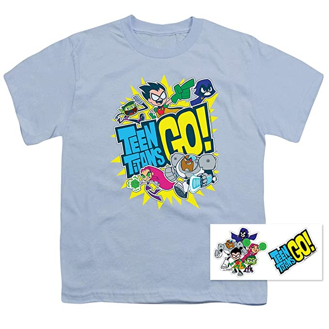 8fa8a6a7d652 Amazon.com  Teen Titans Go! Youth T Shirt  Clothing