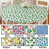 #10: Fitted Elastic Table Cover , Fruit , 68