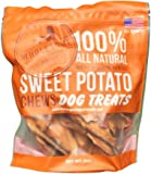 Wholesome Pride Wholesome Pride 8oz Bag of Sweet Potato Chews for Dogs- Dog Chews 100% all natural and made in the USA