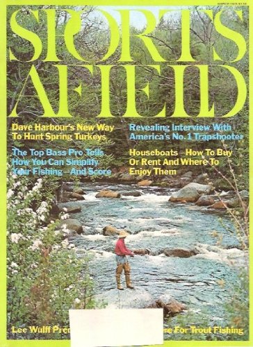 Vintage Field and Stream Magazine - March, 1978 - Very Good Condition - Midwest Edition