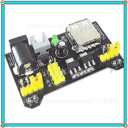 Amazon com: Electronics Stocks 10Pcs/Lot Mb102 A Breadboard Module