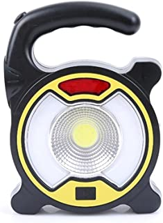 Kaxima Torcia elettrica di Emergenza Outdoor Campeggio Campeggio Lampada USB Carica Spia con Lanterne Multifunzione Torcia Y Light